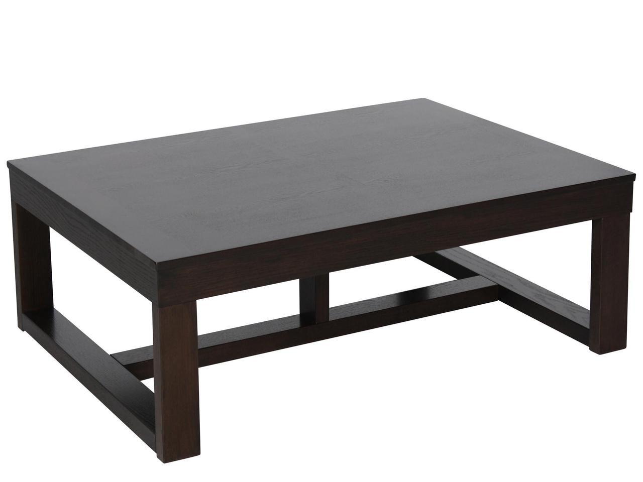 Ashley Watson Cocktail Table In Dark Brown AST - Ashley furniture watson coffee table