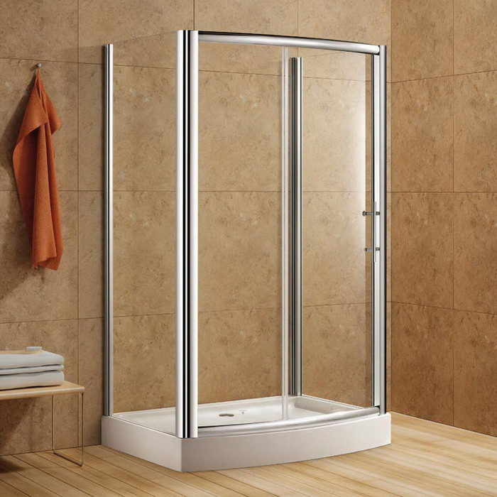 Active Home Centre Rectangular Shower Enclosure with Tempered Glass ...