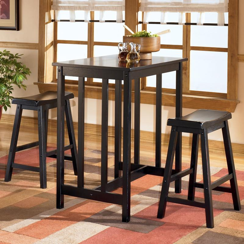 Ashley Conrad Rectangular Dining Room Counter Height Table Set 25AS