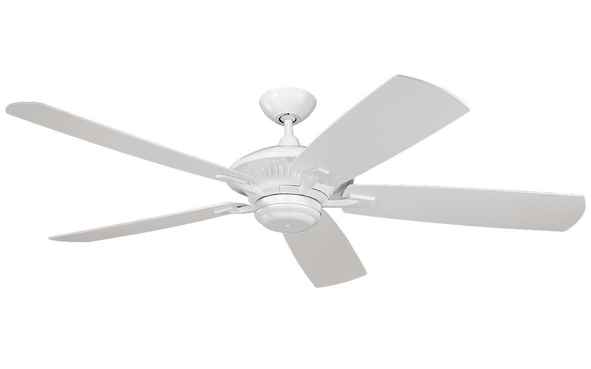 Monte carlo cyclone 60 outdoor ceiling fan in white 29mc 5cy60 wh monte carlo cyclone 60 outdoor ceiling fan in white aloadofball Image collections