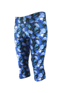 Bondi Knee Light Compression Legging - Ocean