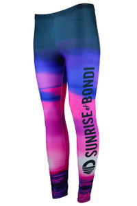 Its A New Day Moisture Management Legging - Dusk