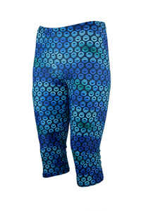 Icon Knee Light Compression Legging - Ocean