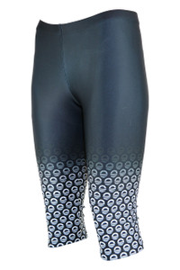Icon Knee Length Moisture Management Legging - Storm