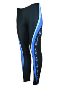 Surfs Up Moisture Management Legging -Ocean