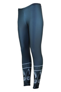 Knee Deep Moisture Management Legging - Storm
