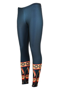 Knee Deep Moisture Management Legging - Heat