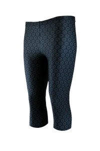 Icon Knee Light Compression Legging - Charcoal