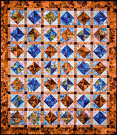 Floating Gems Quilt Pattern