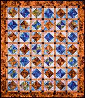 Floating Gems Quilt Pattern