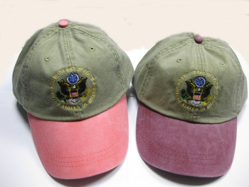 Two-Tone Cap/DOS Embroidered