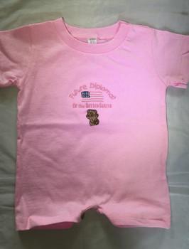 Infant Romper T-Shirt/ Future Diplomat