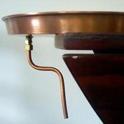 Copper Shirodhara Headpiece