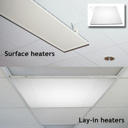 CeramiCircuit Lay-In and Surface Ceiling Infrared Heat Units