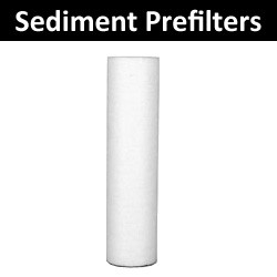 Sediment Pre-filters for UV Systems