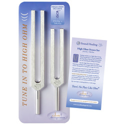 High Ohm Tuning Fork Set by Ohm Therapeutics