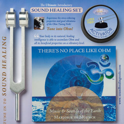 Intro to Sound Therapy Set with Tuning Fork, Activator and Music