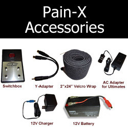 Pain-X Accessories - Batteries, switchboxes, etc.