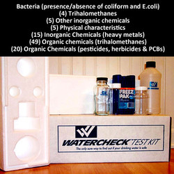 The Watercheck Comprehensive Water Test Kit