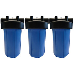 Whole House Water Filtration System - 10in 3 Stage