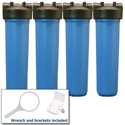 Whole House Fluoride Removal Water Filter Package