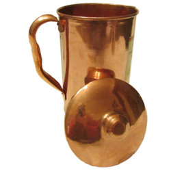 Copper Pouring Pitcher for Ayurveda and Shirodhara