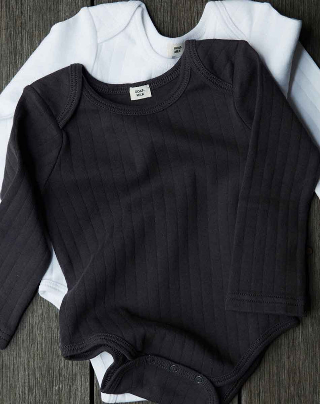 Long Sleeve Onesie (Drop Needle)