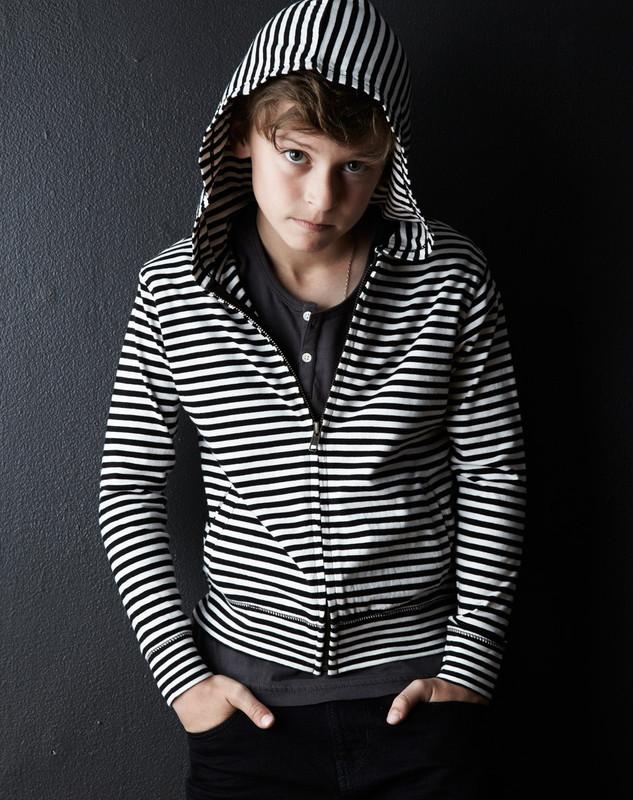 Hoodie (Striped)