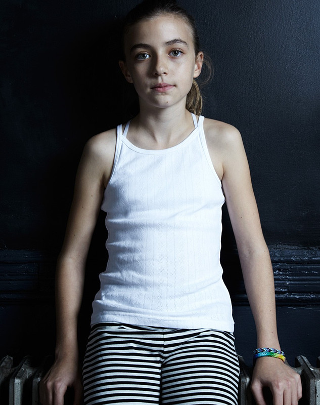 Girl's Tank Top (Pointelle)