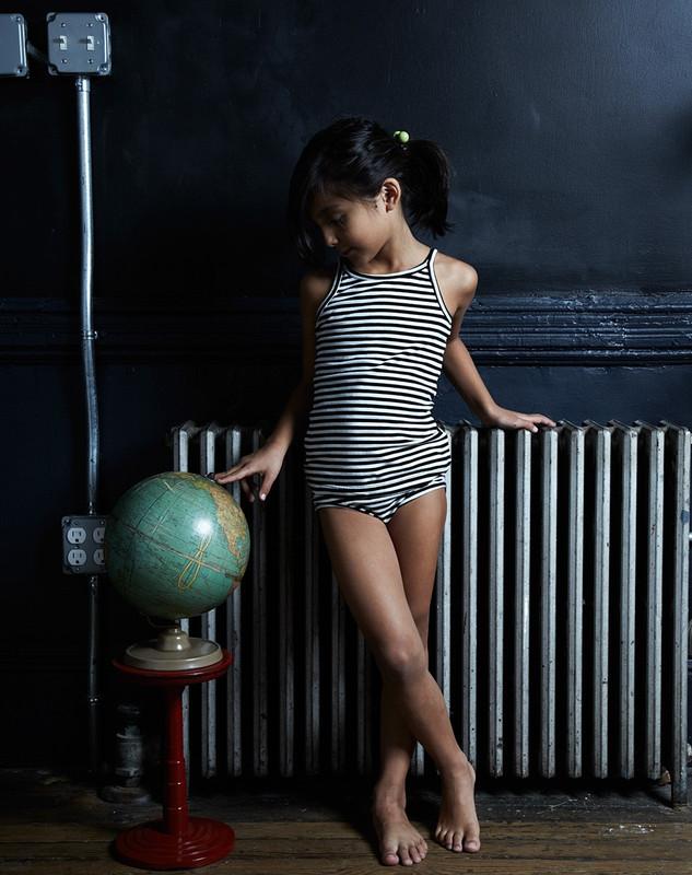 Girl's Tank Top (Striped)