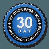 odor free guarantee seal