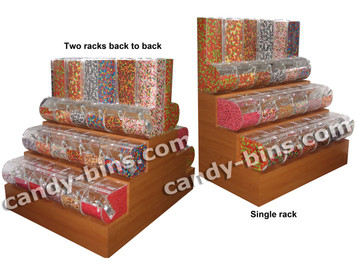 3 Tier Wood Rack