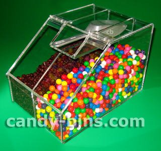 Candy Bin 812D - Divided Bin