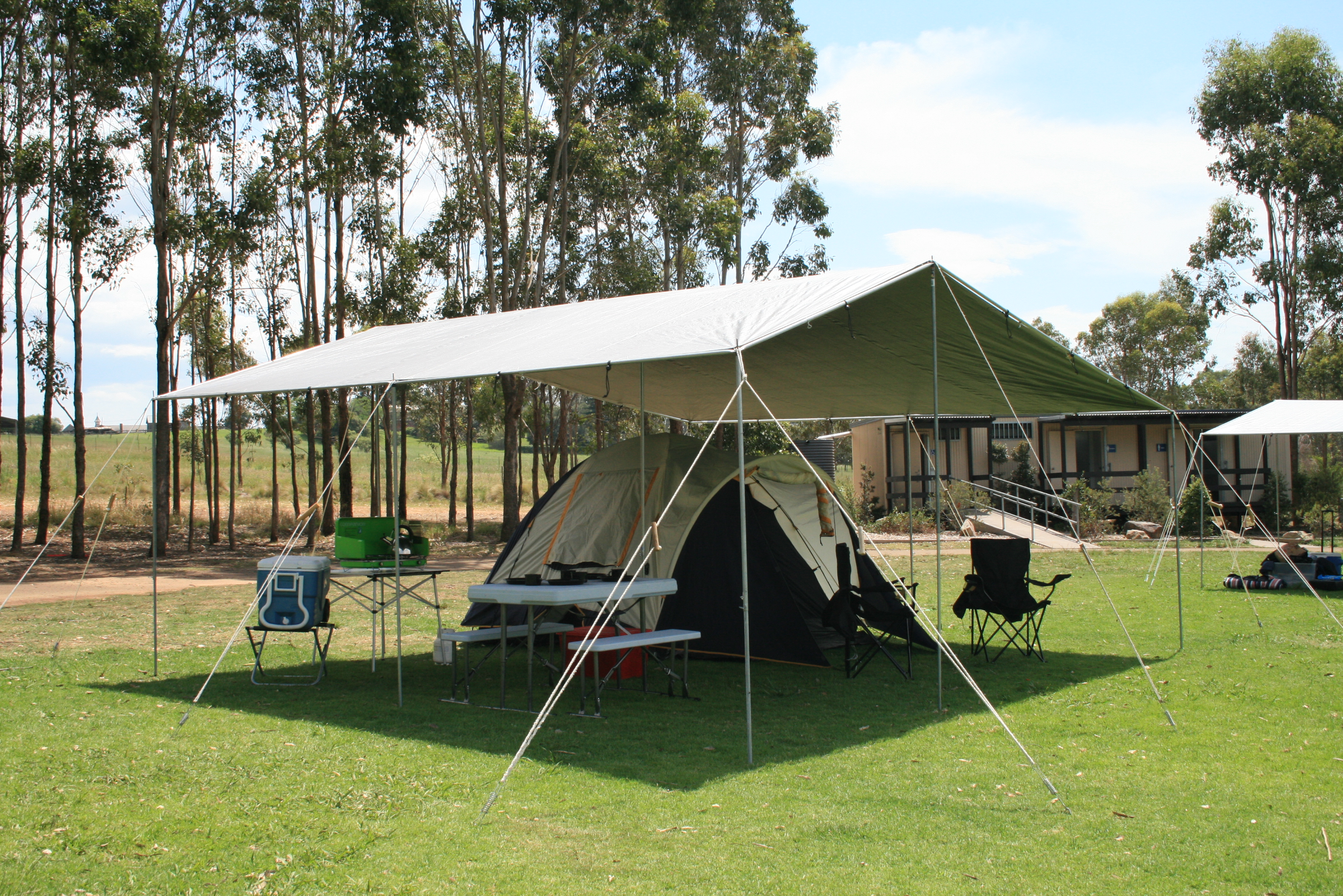 Tar Pole In Range From Campkings Australia