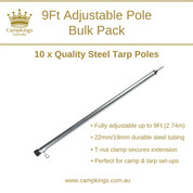9Ft Bulk 10 Pack | CampKings Australia