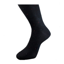Black Patterned Socks