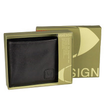 Mens Wallet With Extra Card Leaf