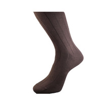 Michel Rouen Socks Brown Cotton