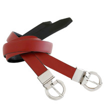 Ladies Reversible Leather Belt
