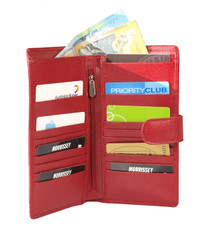 Morrissey Red Travel Wallet