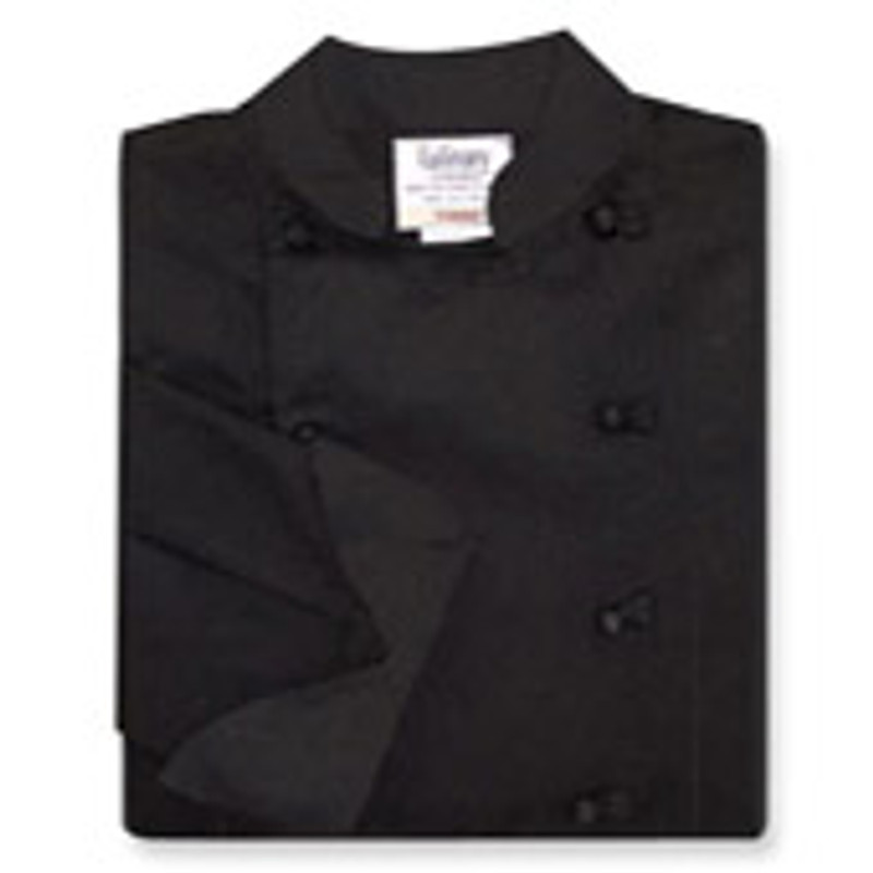 Women's Traditional Coat in Black Twill