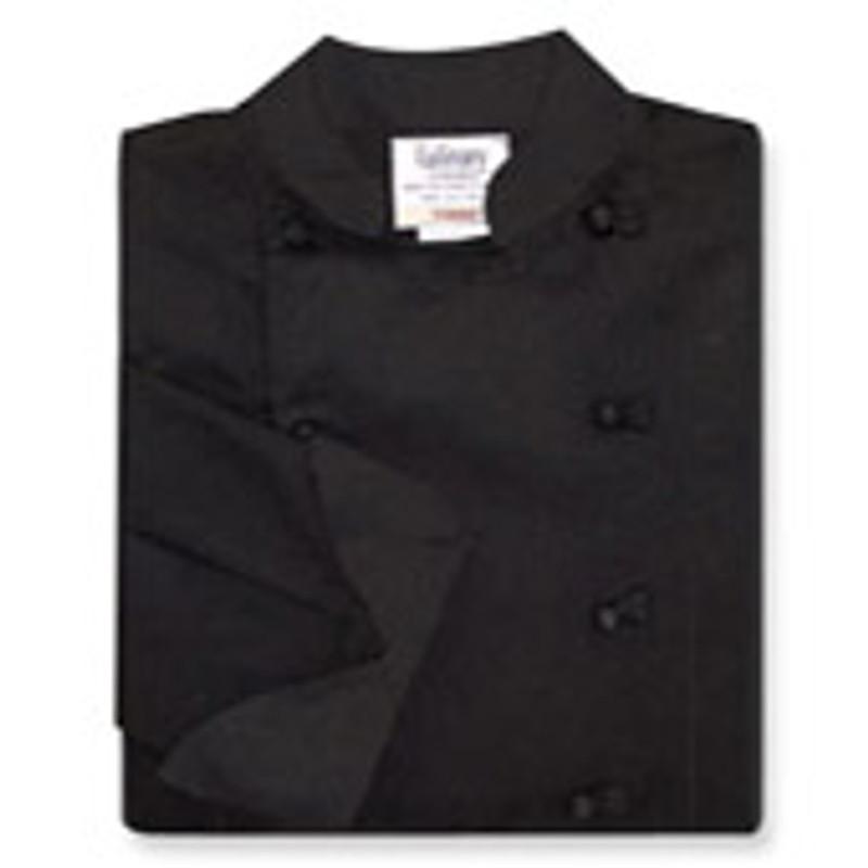 Women's Traditional Coat in Black Twill
