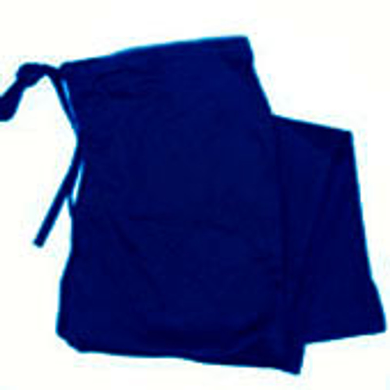 Scrub Chef Pants in 100% Navy Cotton Twill