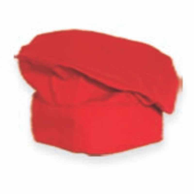 Premium Chef's Grand Beret in Bright Red