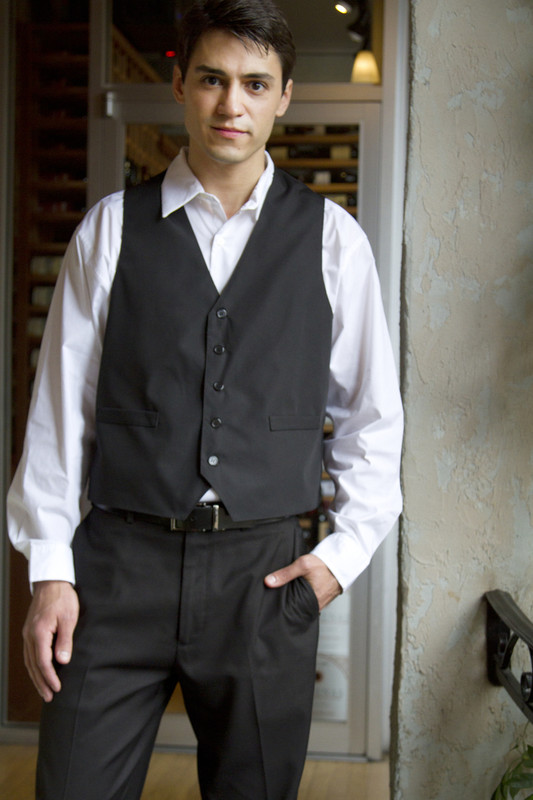 Men's Formal Restaurant Vest
