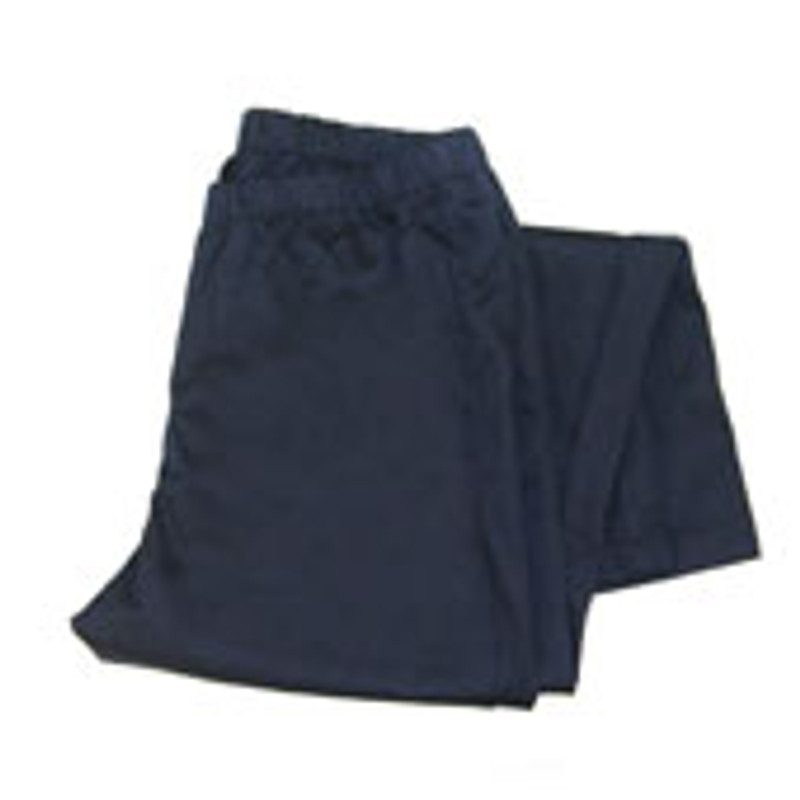 Women's Straight Leg Chef Pants in Navy