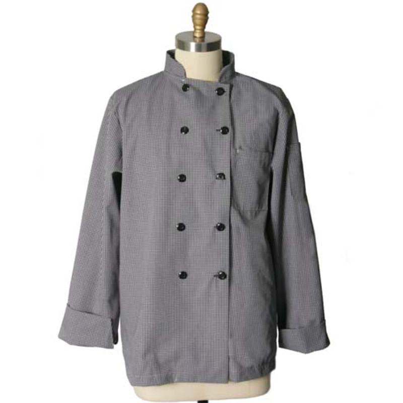 Checkered Entree Chef Coat