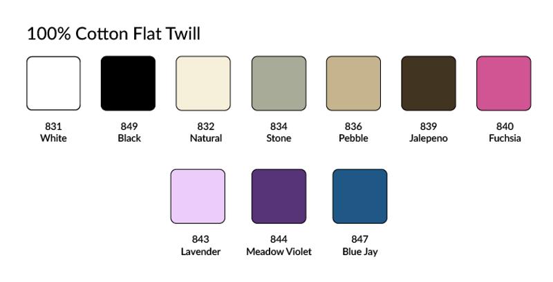 flat twill