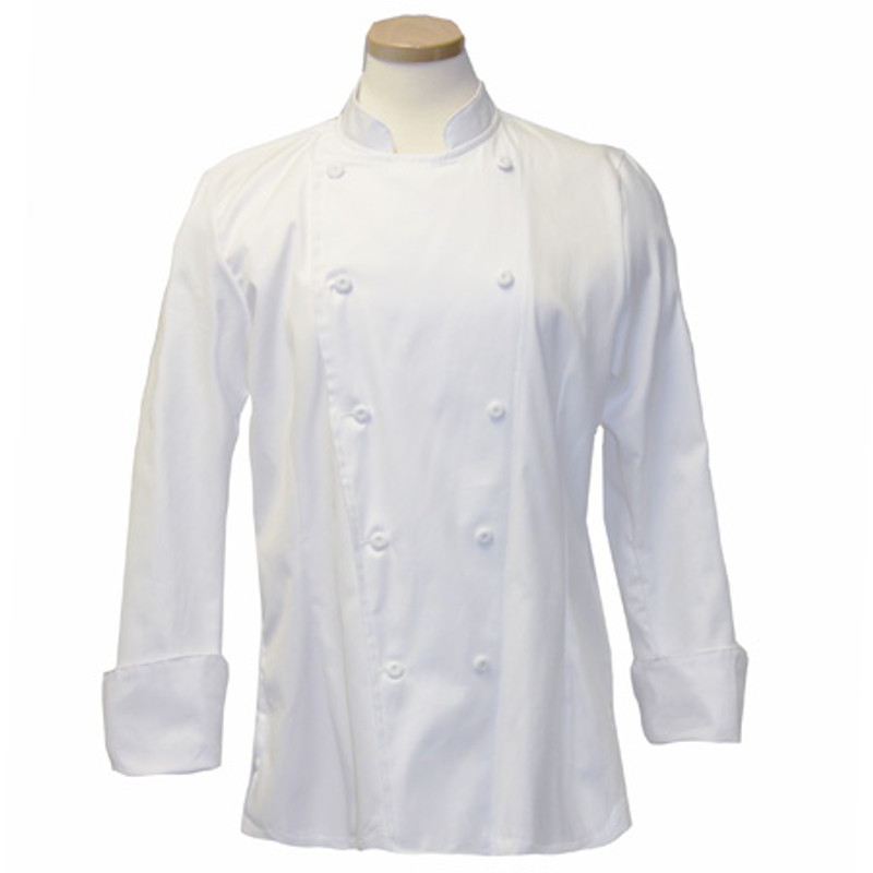 Women's Traditional Coat in White Egyptian Cotton