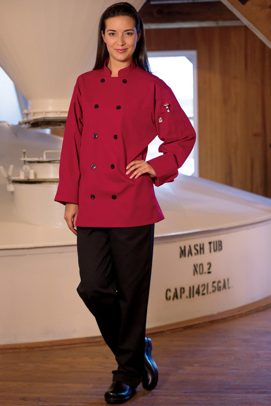 Moroccan Chef Coat in Red